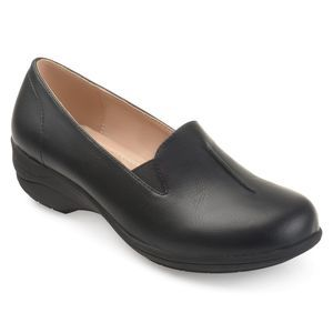 NWT Journee Collection Ellery Black Flats Size 8.5